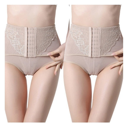 High Waist Trainer Tummy Control Panties ( 1104 ) - The Women Wears