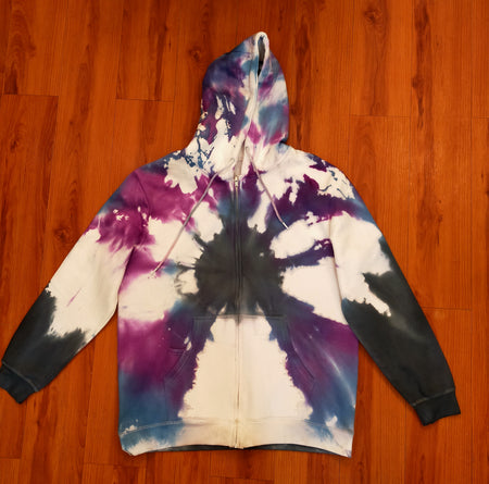 Shibori Tie Dye Hood For Girls