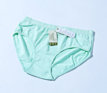 Breathable Cotton Women Underwear Biege - Tiffany Blue(750) - The Women Wears