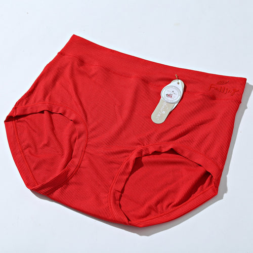 Breathable Cotton Women Underwear - Biege Red (759) - The Women Wears