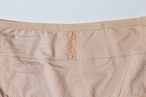 Half Lace Mid Waist Cotton Underwear (603) - The Women Wears