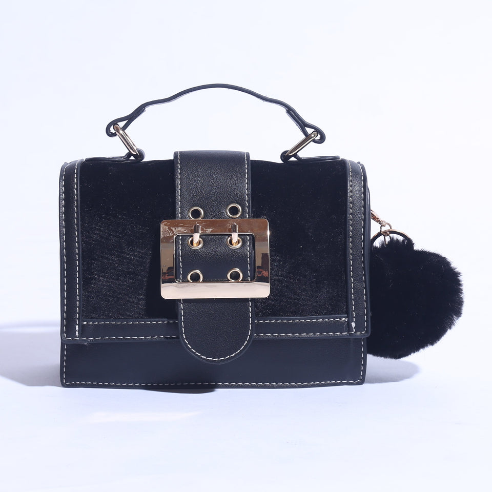 Mini Shoulder Bag With Pure Leather ( C- 053 ) - The Women Wears