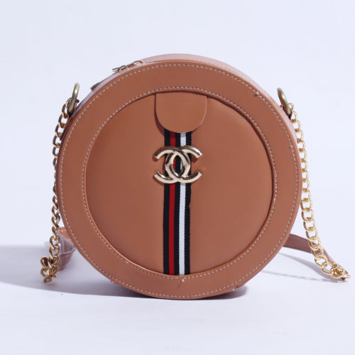 MINI CIRCLE CHANEL MARMONT BAG WITH CHAIN SHOULDER ( B-007 ) - The Women Wears