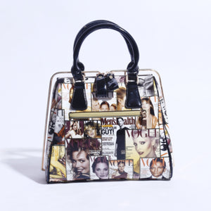 Gorgeous Magazine Statement Purse (B-045) - The Women Wears