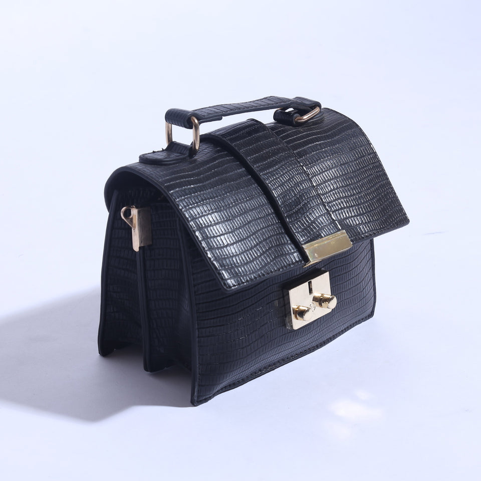 Mini Shoulder Bag With Pure Leather ( C- 051 ) - The Women Wears