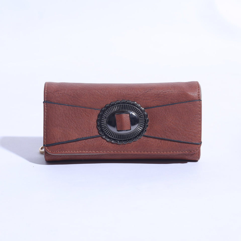 High quality Solid Pure Leather Ladies Wallet ( C- 024  ) - The Women Wears