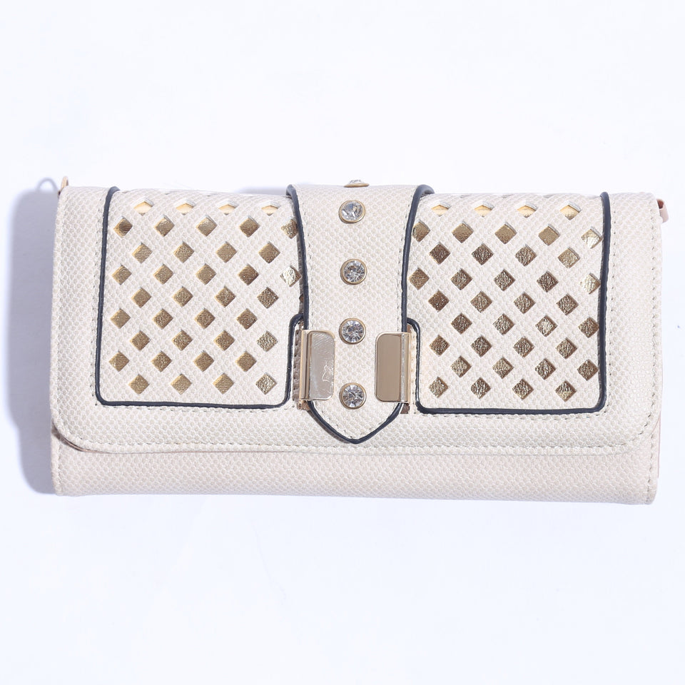 Solid Pure Leather Ladies Wallet ( C- 008  ) - The Women Wears