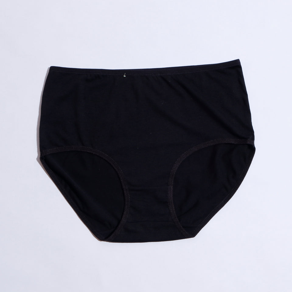 Pack Of 7 Breathable Soft Cotton Plain Panties ( 1138 ) - The Women Wears