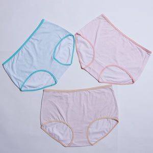 PACK OF 7 BREATHABLE SOFT COTTON PANTIES ( 1345 ) - The Women Wears