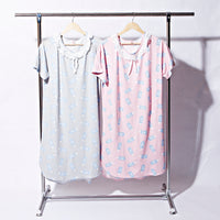 Ladies Sleepwear Short Sleeve Long T Shirt T-1348 - The Women Wears