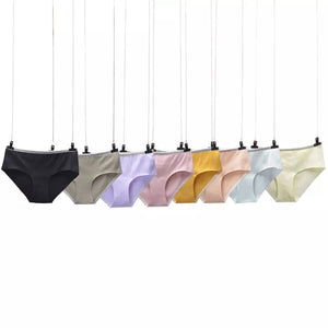 PACKS OF 7 BREATHABLE SOFT COTTON PANTIES WITH STRAP (1141)