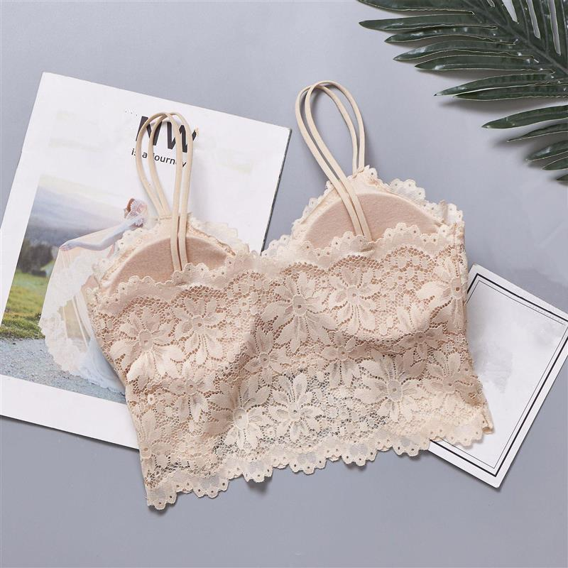 Pack Of 3 Sexy Floral Lace Bralette  (0022) - The Women Wears