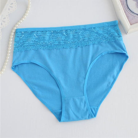 Mid Waist Cotton Underwear (566) - The Women Wears