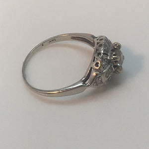 Antique Engagement Diamond Ring