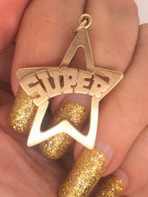 Load image into Gallery viewer, Super Star 14k 1970'S Charm
