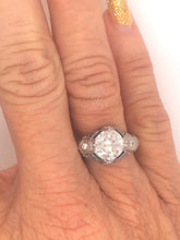 Load image into Gallery viewer, Antique Diamond Engagement RIng