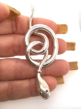 Load image into Gallery viewer, Snake Jewelry Pendant Custom Made