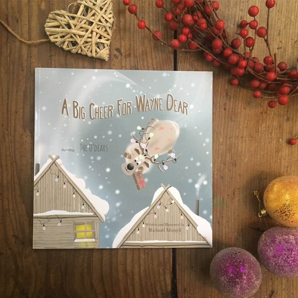 A Big Cheer For Wayne Dear book | Christmas