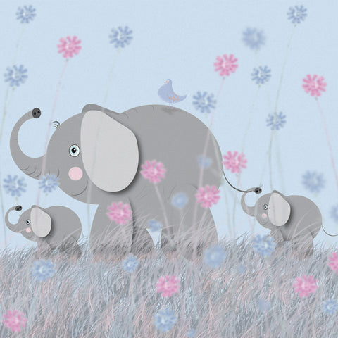 3 Elephants and a Little Birdie