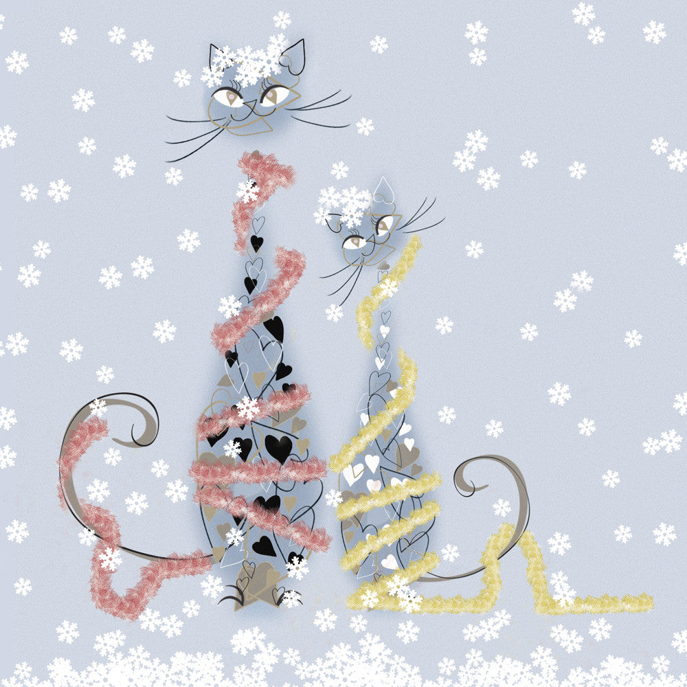 Tinsel Cats