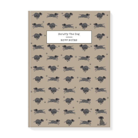 Scruffy dog Notebook