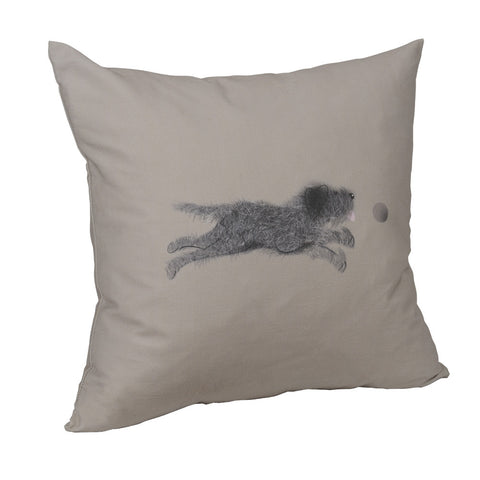 Scruffy the dog Cushion Cover