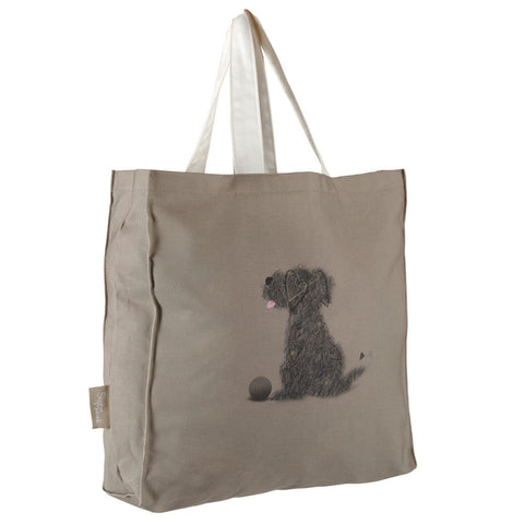 Scruffy the dog Tote Bag