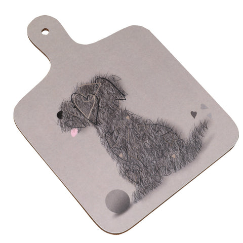 Scruffy the dog Chopping Board
