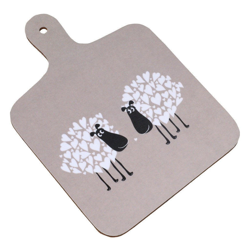 Snuggly Sheep Chopping Board