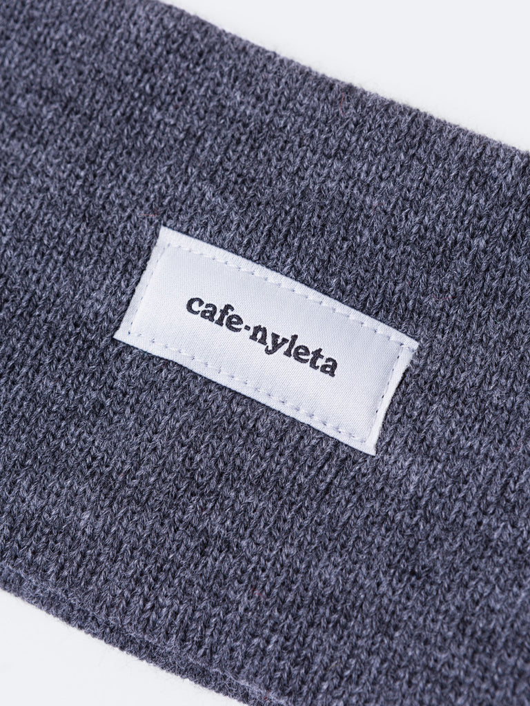 Knit Gaiter Band - Cafe Nyleta