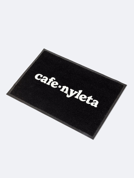Flocked Floor Mat - Cafe Nyleta