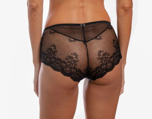 Louisiana Daisy Tulle, Lace and Guipure Panties