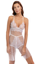 Load image into Gallery viewer, Emancipation Lace and Crinkle Tulle Baby Doll