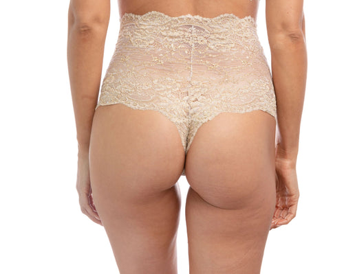 Gold Rush Highwaisted Thong