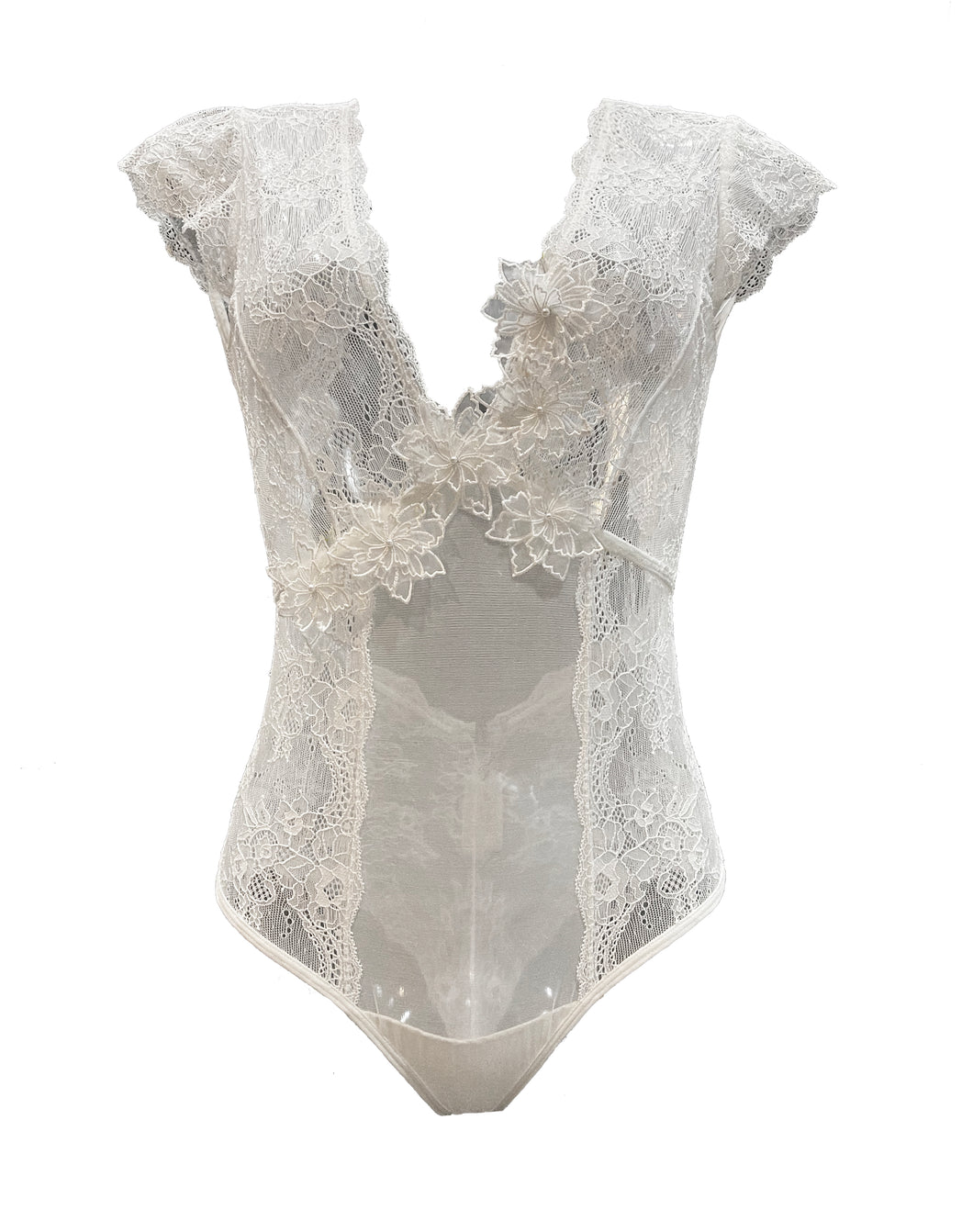 Magnolia Lace and Tulle Bodysuit