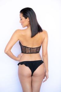 Highlands French Chantilly Lace Corset
