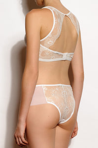 Milano Lace and Tulle Hipster Panties