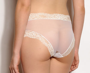 Paris Tulle and Lace Sheer Panties