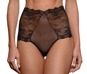 York Highwaisted Lace Thong