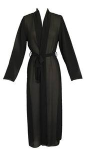 Wales Long Georgette Robe