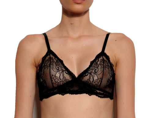 York Triangle Lace Soft Bralette
