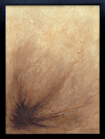 Triumph Brown Abstract Painting