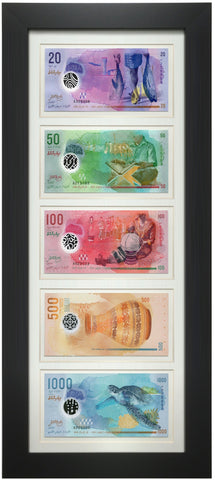 Framed Currency #3