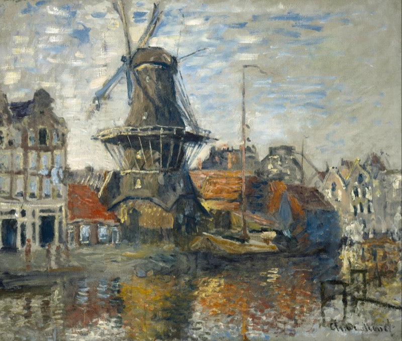Monet Windmill #965
