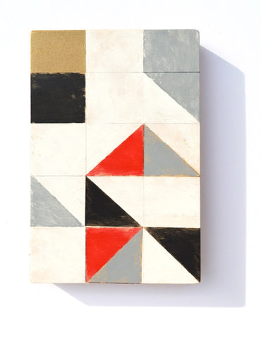 Geometric Wood Art #950