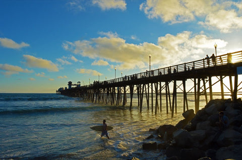 Oceanside Beach Pier #761