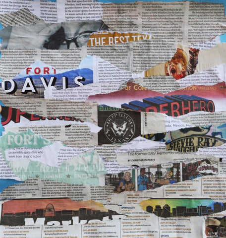 Newspaper Collage #840