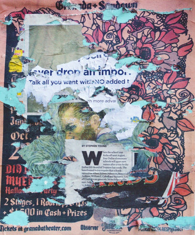 Newspaper Collage #845