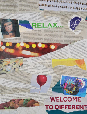 Newspaper Collage #843
