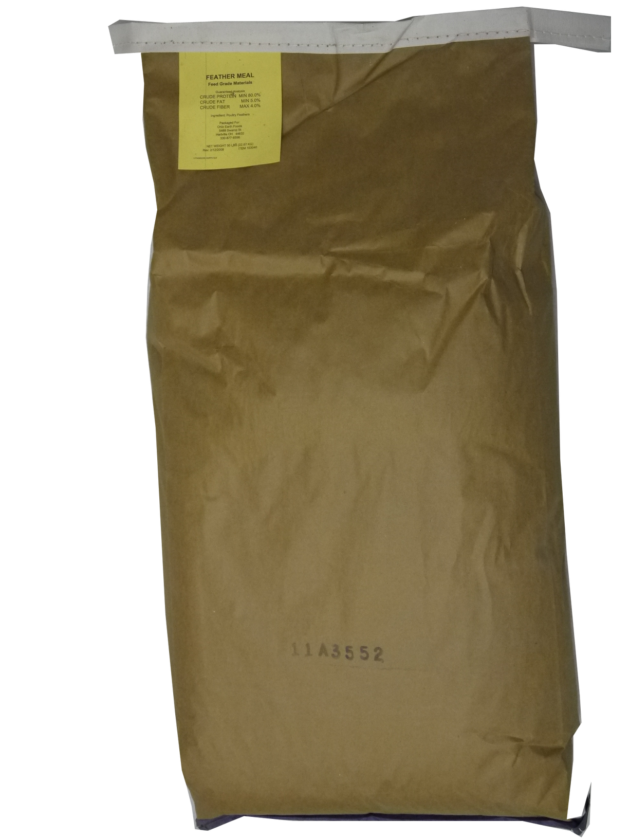 FEATHERMEAL 50# bag